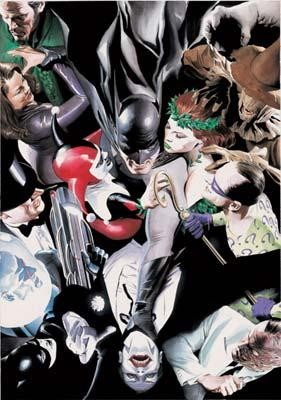 Alex Ross Joker's Reckoning Giclee On Canvas