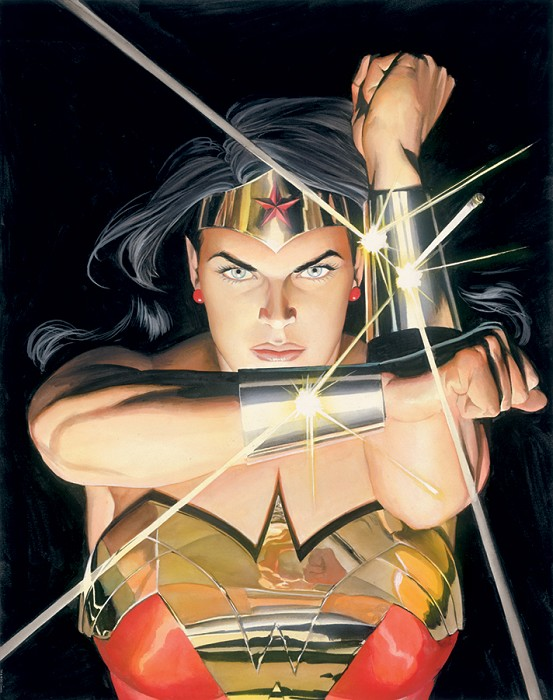 Alex Ross Wonder Woman  Mythology AP Number 4 Giclee On Canvas