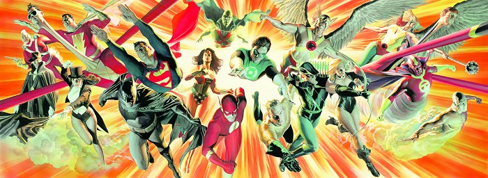 Alex Ross The Perfect Alliance Giclee On Paper