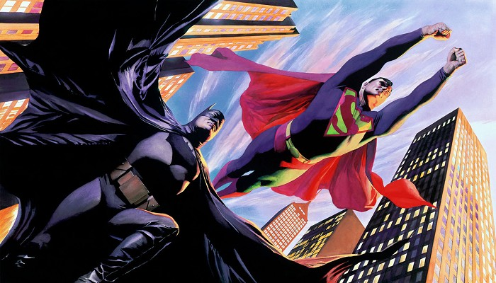 Alex Ross World's Finest Giclee On Canvas