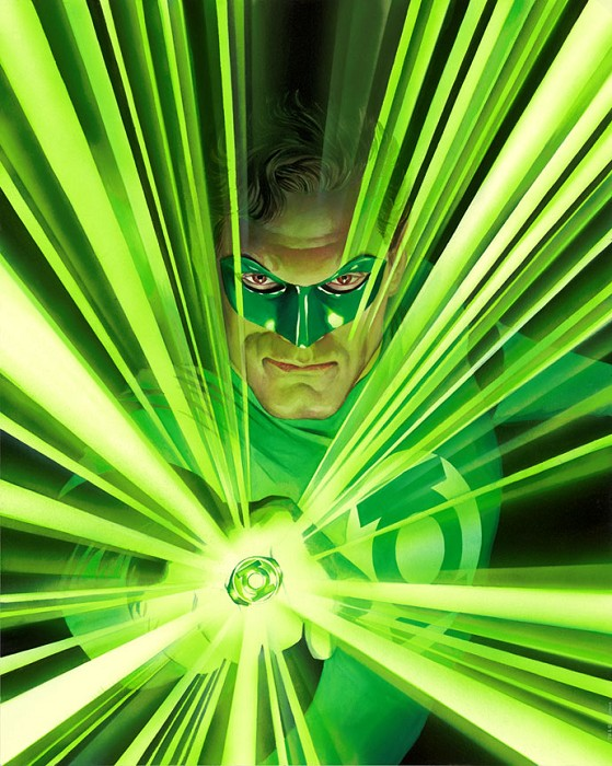 Alex Ross Green Lantern Mythology Giclee On Paper