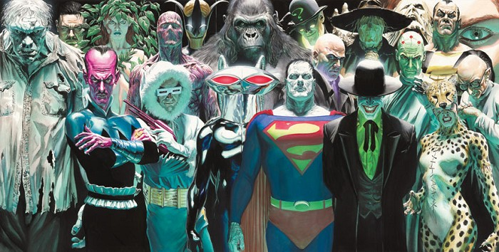 Alex Ross Infinitely Evil Giclee On Paper