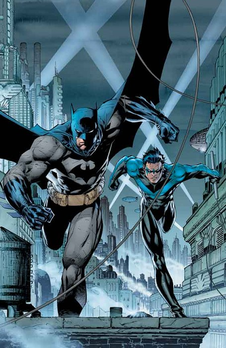 Jim Lee Gotham's Crime Fighters Giclee On Paper