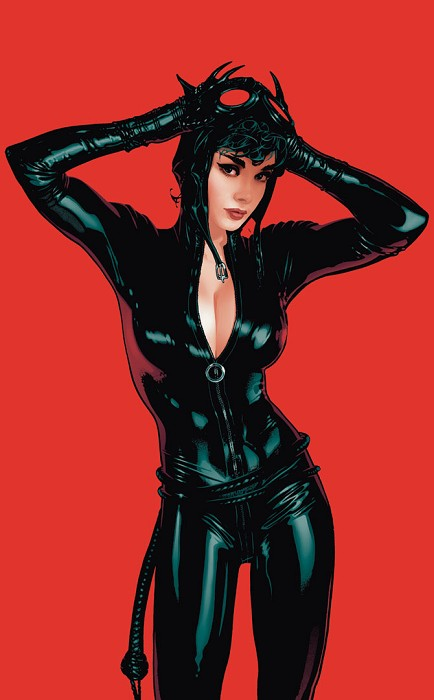 Adam Hughes Meow! Giclee On Paper