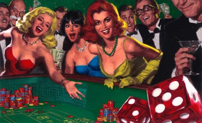 Glen Orbik Lady Luck Giclee On Paper