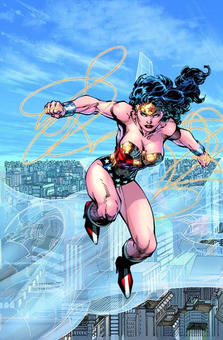 Jim LeeTrinity Batman Superman And Wonder WomanGiclee On Canvas