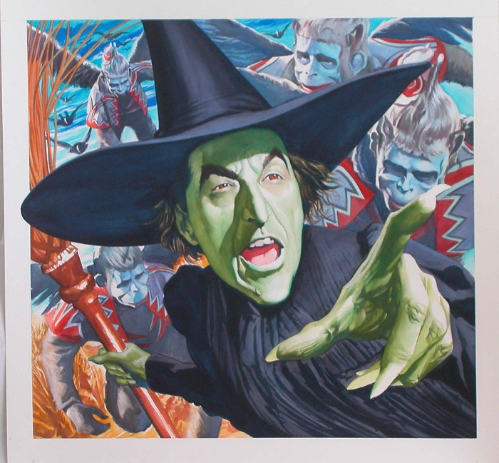Alex Ross My Pretties From The Wizard Of OZ Giclee On Canvas