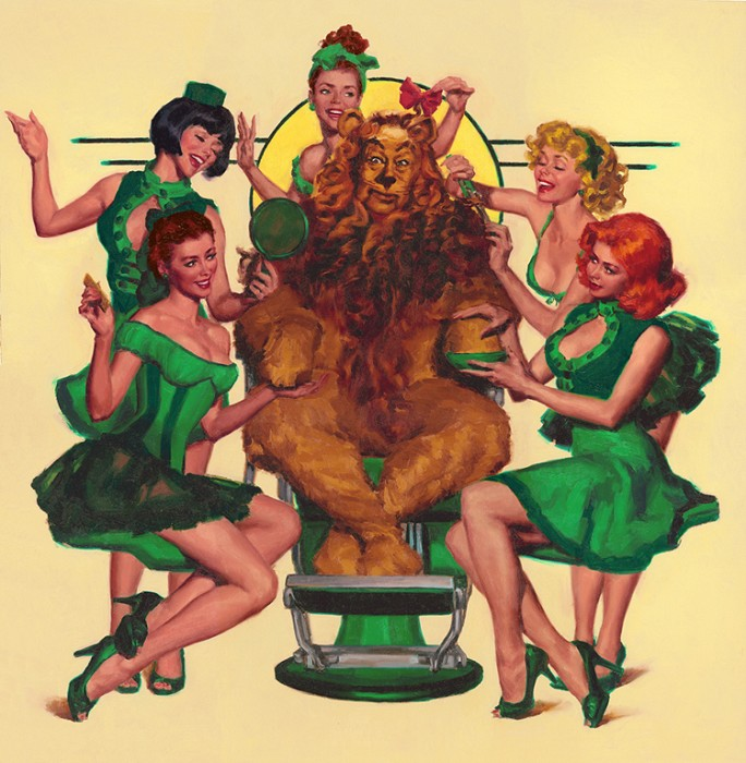 Glen Orbik Emerald Beauties From The Wizard Of OZ Giclee On Canvas