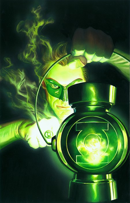 Alex Ross Green Lantern The Lantern Giclee On Paper