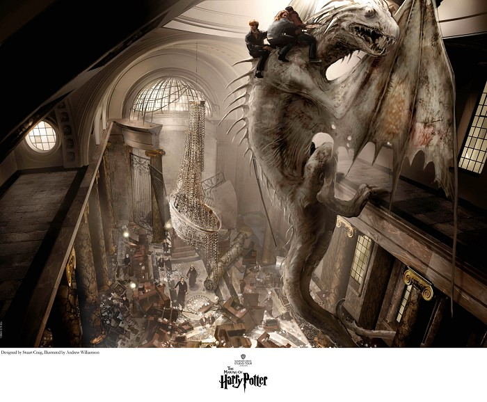 Stuart CraigEscape of the DragonGiclee On Paper