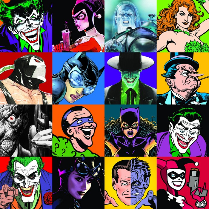 Alex Ross The Faces of Evil Giclee On Canvas