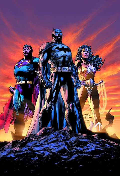 Jim Lee Icons Giclee On Canvas