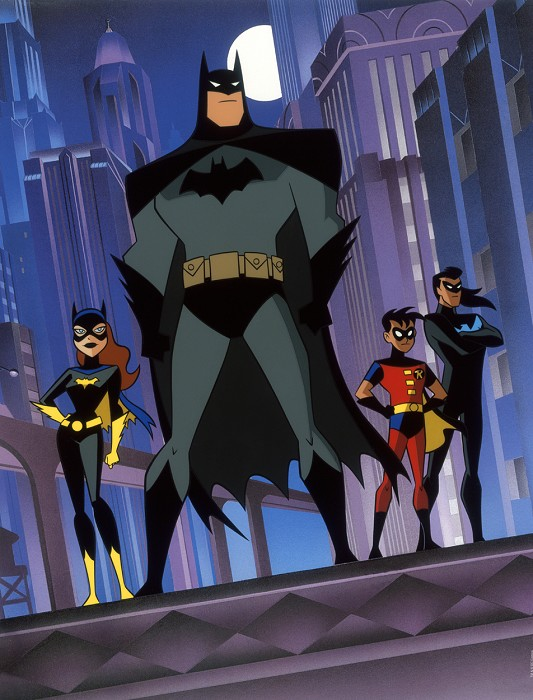 Bruce Timm Gotham Knights Giclee On Canvas