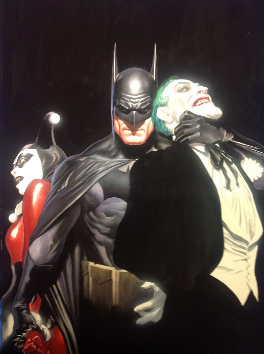 Alex Ross Mind if I Cut In? Giclee On Canvas