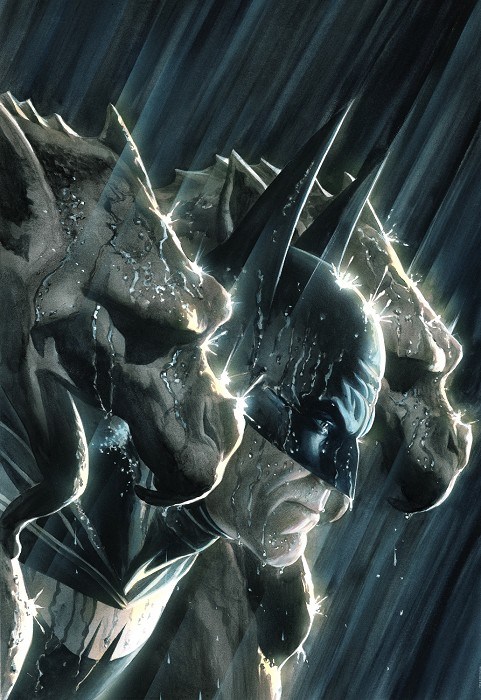 Alex Ross Batman and the Gargoyles Giclee On Paper