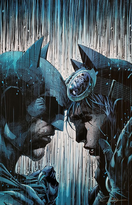 Jim Lee Bring on the Rain Giclee On Paper