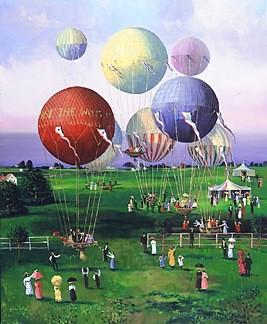 Sally Caldwell FisherBalloons, Balloons
