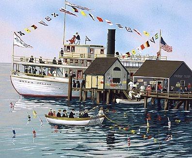 Sally Caldwell FisherGreen Island Ferry