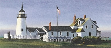 Sally Caldwell Fisher Pemaquid Light