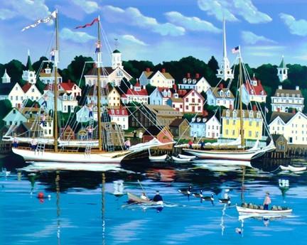 Sally Caldwell FisherSwans Harbor