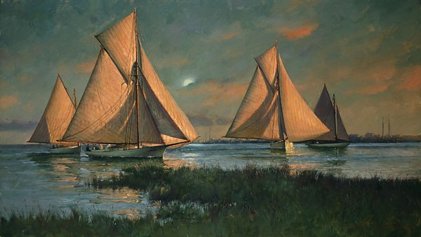 Don Demers Between the Sun and the Moon Canvas