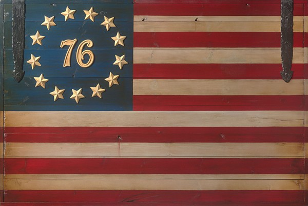 David Grant The Spirit of 76 Flag MASTERWORK OPEN EDITION Canvas
