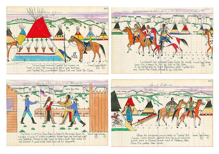 Daniel Long SoldierThe Betrayal of Crazy Horse Limited EditionPrint