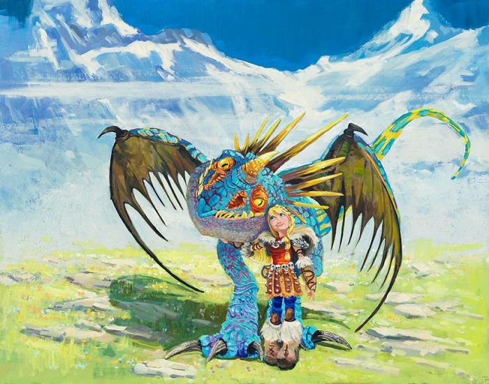 Line TutwilerA Vikings Best FriendGiclee On Canvas