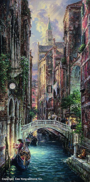Cao YongDeja-Vu Of VeniceGiclee On Canvas The Venice Series