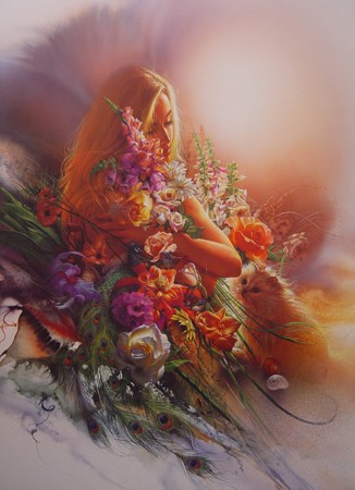 Lee Bogle Dreams Of Summer Artist Proof Hand Enhanced