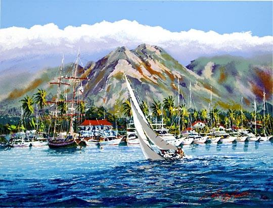 Kerry HallamMoana Makani (Ocean Breeze)
