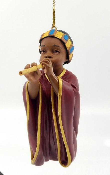 Ebony VisionsThe Little Piper Ornament