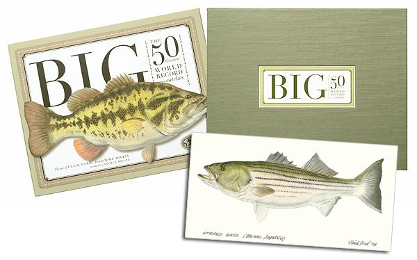 Flick FordBig: The 50 Greatest World Record Catches, Collector Book W/ Original