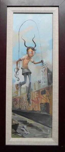 Frank MorrisonALL CITYOriginal Oil on Canvas