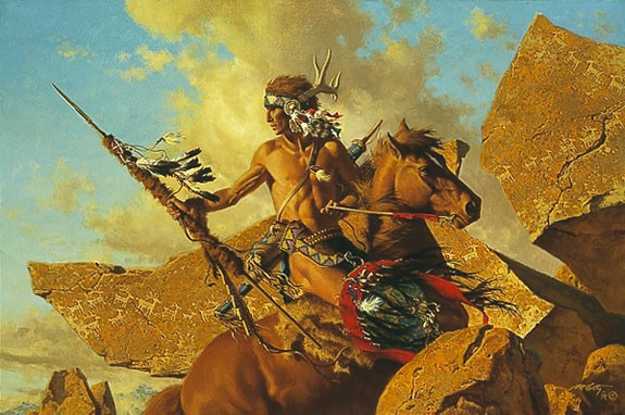 Frank McCarthy THE WAY OF THE ANCIENT MIGRATION Lithograph