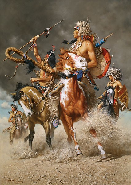 Frank McCarthy Change in the Wind Canvas