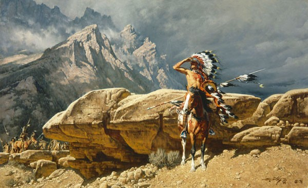 Frank McCarthy From the Rim ANNIVERSARY EDITION ON Canvas
