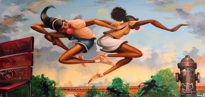 Frank MorrisonFREEZE TAGOriginal Oil on Canvas