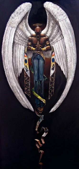 Frank MorrisonHeaven Sent Giclee Canvas Artist Proofs