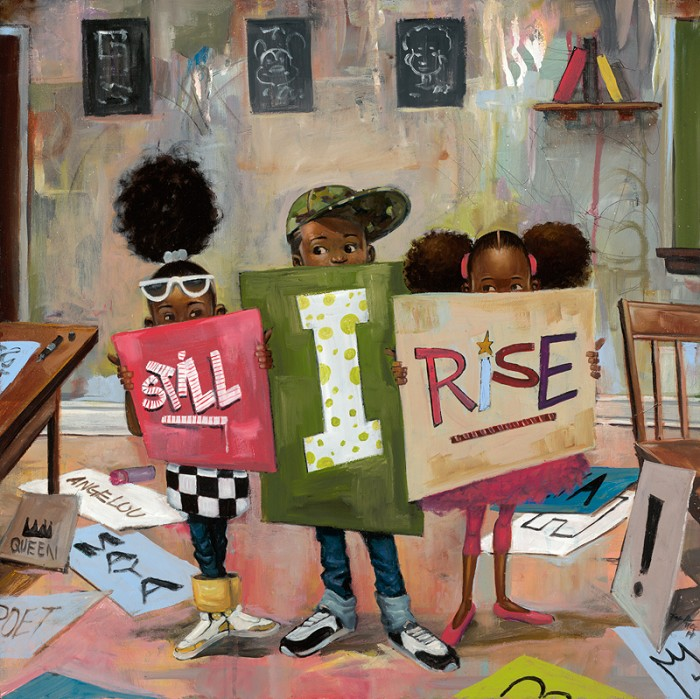 Frank MorrisonSTILL I RISE WITH REMARQUE Giclee On Paper