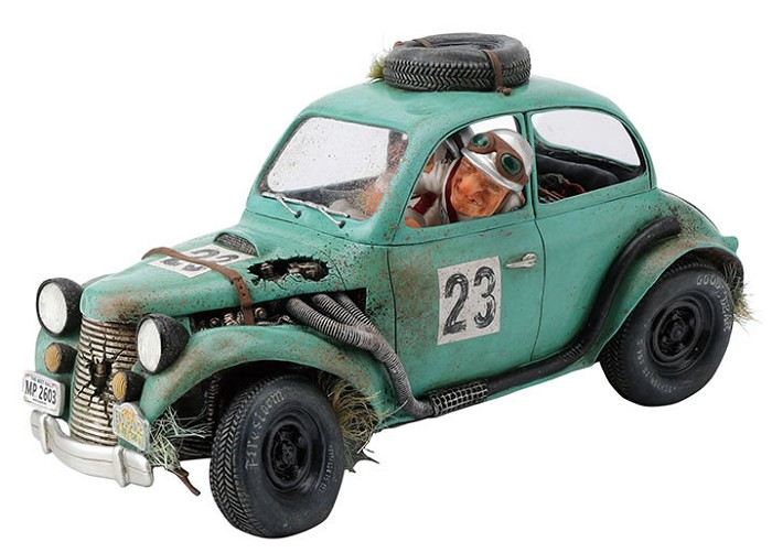 Guillermo Forchino The Rally Car 1/2 Scale