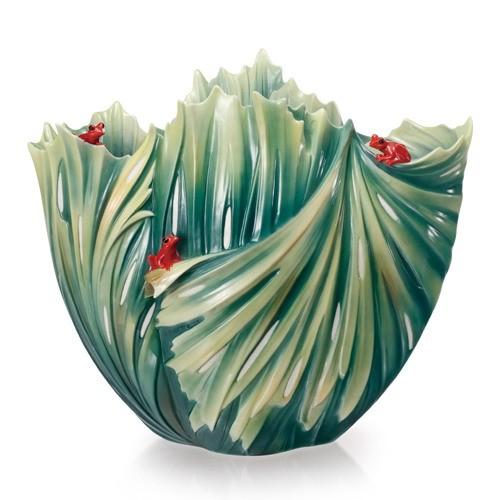 Franz PorcelainVase, Rain Forest (LE 2000)