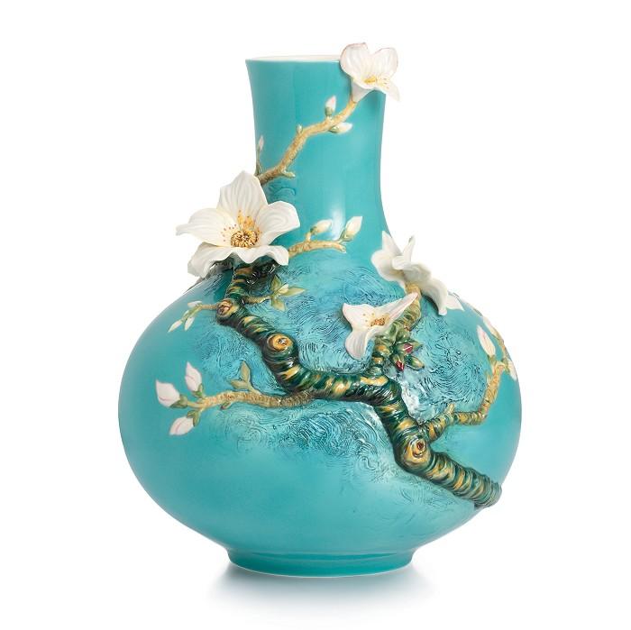 Franz PorcelainVase, Van Gogh Almond