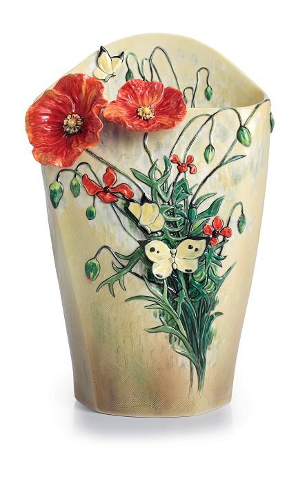 Franz PorcelainVan Gogh Poppy FlowerFine Porcelain