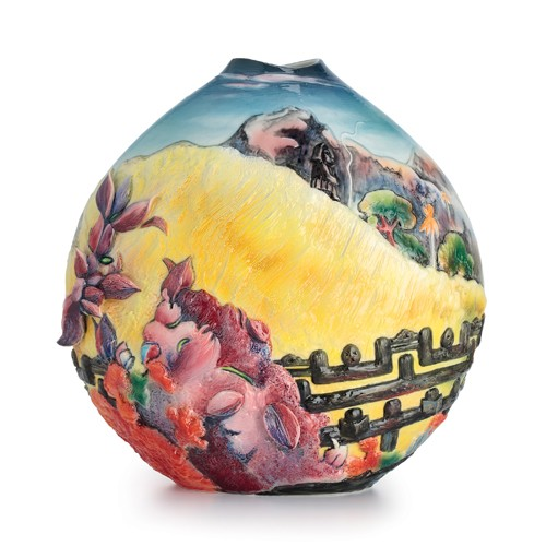 Franz PorcelainSacred Mountain Fine Porcelain