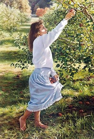 Tom SierakFall Harvests Canvas Giclee