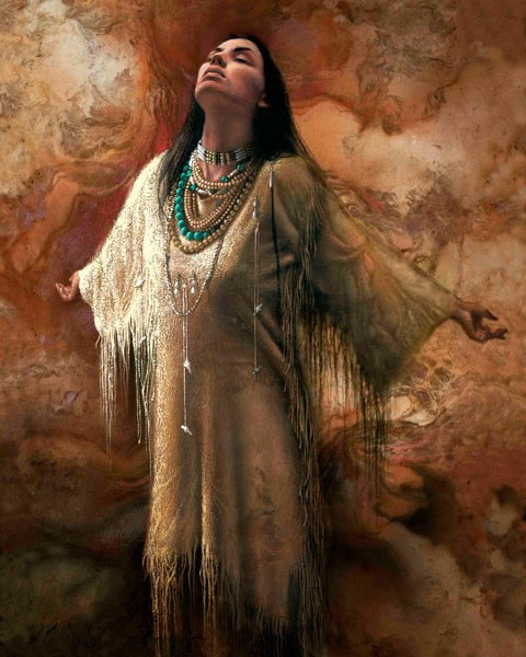 Lee Bogle Free Spirit Giclee On Canvas