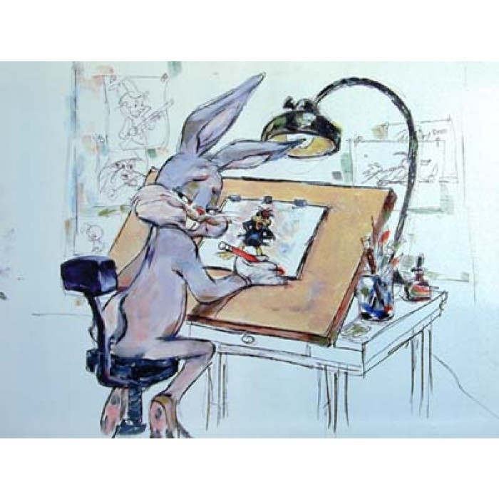 Chuck Jones Still A Stinka Giclee On Canvas