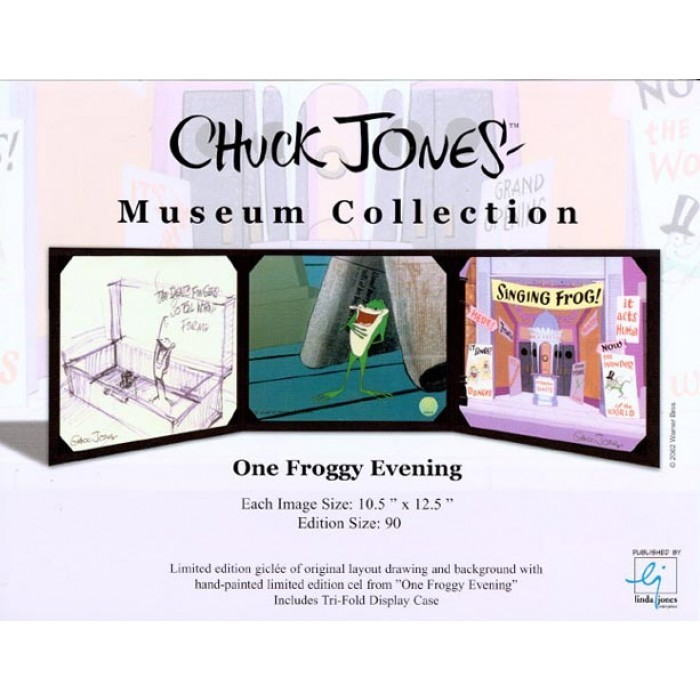 Chuck Jones One Froggy Evening Museum Collection Giclee On Paper