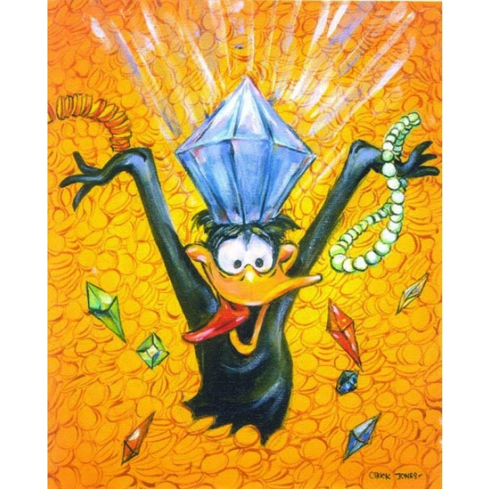 Chuck Jones Im In The Money Giclee On Canvas